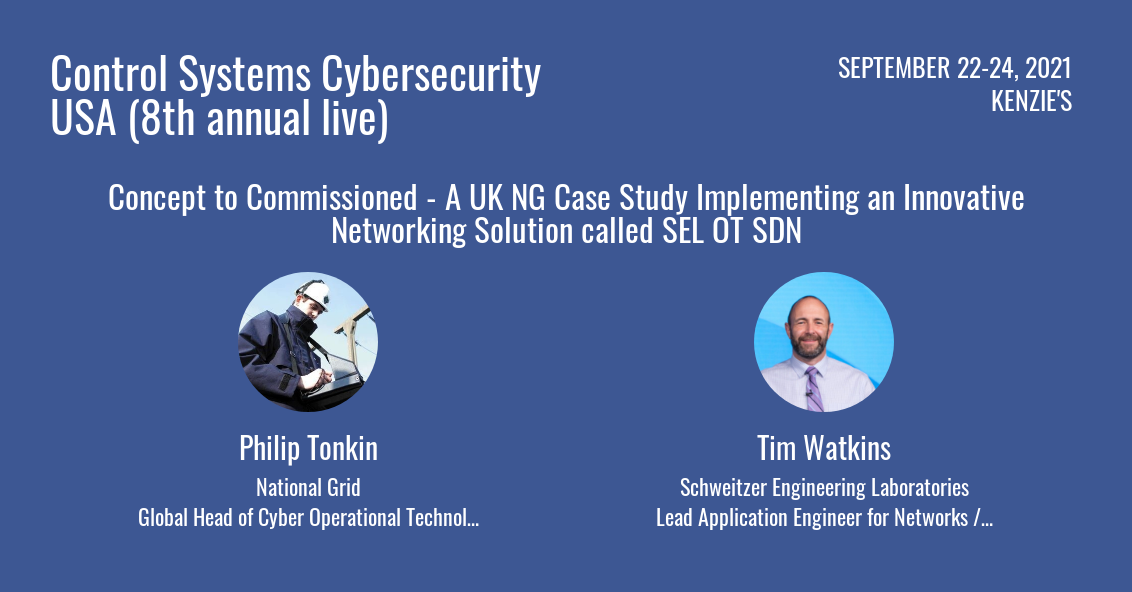 NTL GRID SELINC case study Control Systems Cybersecurity USA conference